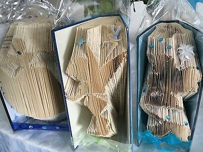 Book folding Disney PATTERNS Cinderella 3, Ariel 2 & Tinker belle folded book