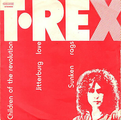T-REX children of the revolution +2 - 45RPM orig. ITALY 3C006-93790 with error