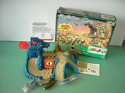 Micro machines Military Set - Confrontation at Cobra Bunker Complete Boxed