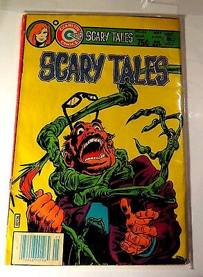 Scary tales #44 Charlston Bronze Age Comic CB1315