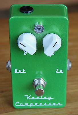 Keeley Compressor Effects Pedal - Original Two-Knob Version in Low-Rider Green!