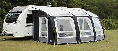 Kampa Ace Air Pro 500 Inflatable Caravan Awning &Accessories PACKAGE BUNDLE 2017