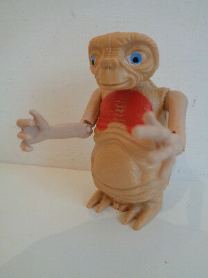 """VINTAGE 1992 E.T. EXTRA TERRESTRIAL 4"""" FIGURE with EXTENDING NECK"""