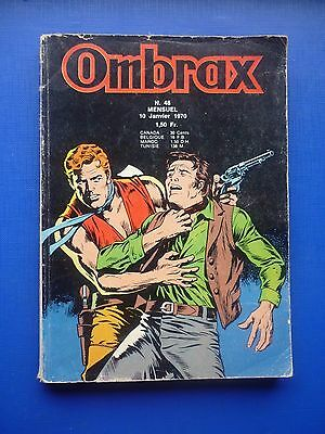 Editions LUG  :  OMBRAX  N° 48  -  1970  -  BE/TBE