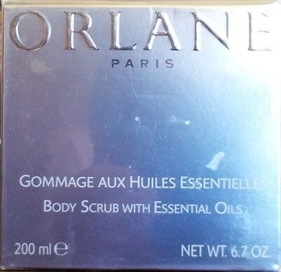 Orlane GOMMAGE AUX HUILES ESSENTIELLES.BODY SCRUB WITH ESSENTIAL OILS 200ml