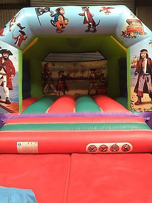 12Ft X 12Ft Pirate Bouncy Castle