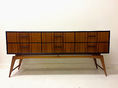 Mid Century Atomic Style Sideboard Chest of Drawers