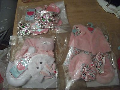 3 sets New Chad Valley Design A Bear Dress Outfit/ tara etc