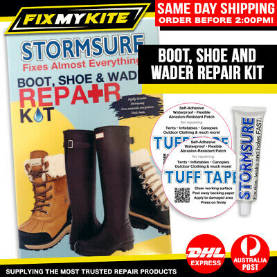 Boot Shoe Wader Fishing Hunting Camping - Stormsure Repair Kit