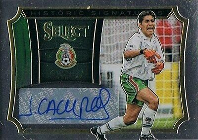 2015-16 Panini Select Soccer Historic Signatures #HS-JC Jorge Campos 133/199