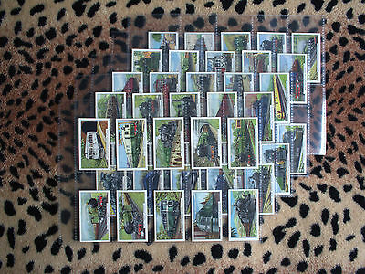 Cigarette Card : Gallaher : Trains of the World (1937) : Full Set