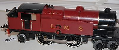 HORNBY O GAUGE ELECTRIC  No 2 SPECIAL TANK LMS RED LIVERY REFURBISHED