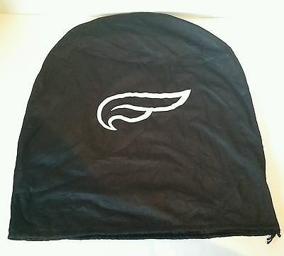 Fulmer Motorcycle Half Helmet Bag Dust Cover Black Drawstring Tote Bag