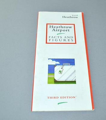 Heathrow Airport Facts and Figures Booklet -- Third Edition.