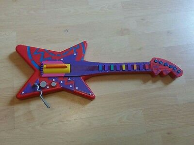 Girls boys kids child's ZING ZILLA musical guitar toy with sound