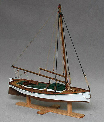 Wooden Ship Model Kit Boat Model Kit Sailboat Scale 1/35 Flattie wood ship kit