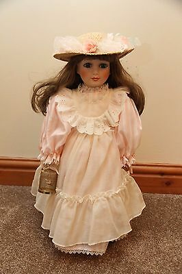 Alberon Collector Porcelain Doll, Limited Edition - Colette