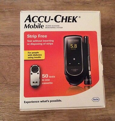 Accu-Chek Mobile Blood Glucose Monitoring System NEW & SEALED