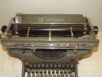 UNDERWOOD TYPEWRITER STANDARD MODEL No3 ~ Lovely Condition