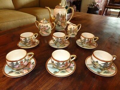 Satsuma Tea Set - Bizon Shimazu