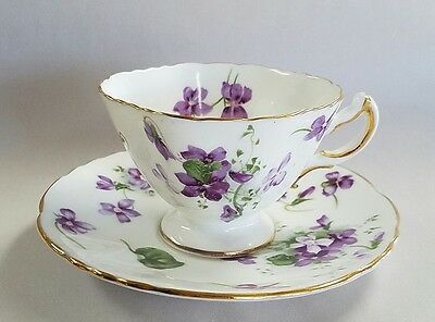 HAMMERSLEY England china Victorian Violets cup and saucer