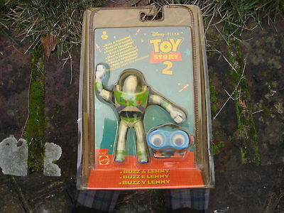 TOY Story 2 Buzz and Lenny in Factory Sealed Bubble Pack by Mattel