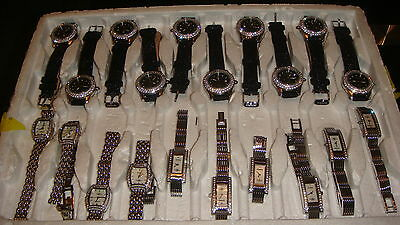 Trade Only Job Lot Of 20 X  Mixed  Amadeus  Watches 100% Gen