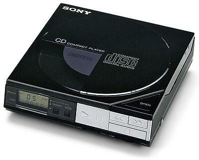 Sony D-5 World's First Portable Cd Player Great Condition, Owned From New!
