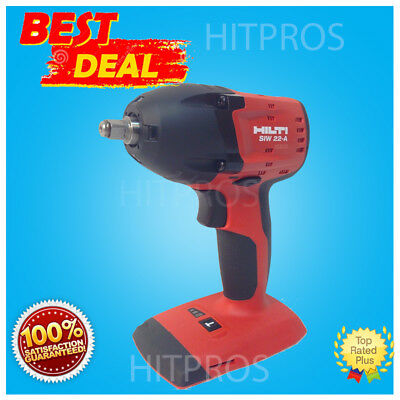 Hilti Siw 22-A Cordless Impact Drill Driver, New Model, Bare Tool Only,fast Ship
