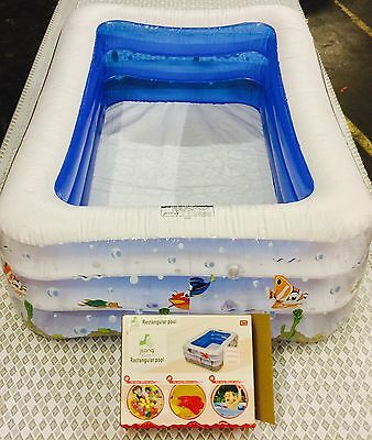 5ft Inflatable Kids Swimming Pool