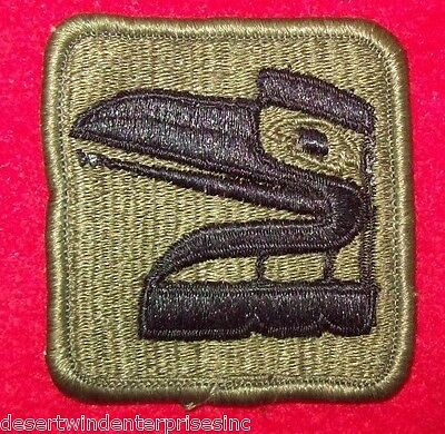 NEW US MILITARY WASHINGTON ARMY NATIONAL GUARD SEW ON 81st BRIGADE SUBDUE