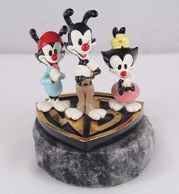 RARE Animaniacs Warner Bros Store Limited Edition Statue Figure Bust 1995 24k go