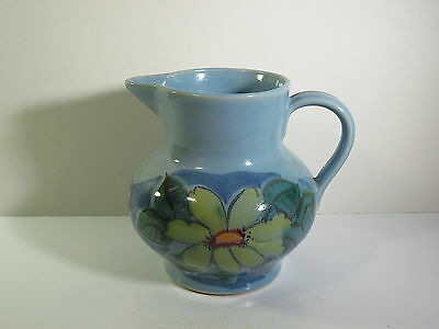 Buchan / Scotland - Finest Stoneware- Edinburgh Pattern Jug / Pitcher - Blue