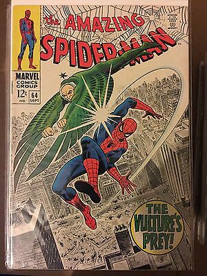 The Amazing Spider-Man #64 ⭐️ FN ⭐️ Marvel Comics