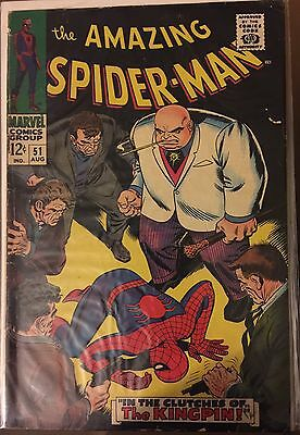 The Amazing Spider-Man #51 ⭐️ VG- ⭐️ Marvel Comics