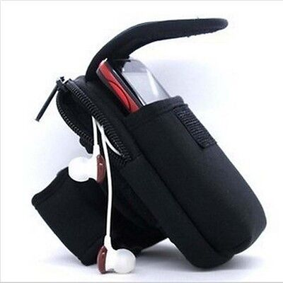 Outdoor Sports Gym Running Wrist Pouch Mobile Cell Phone Arm Band Bag Wallet