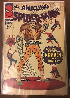 The Amazing Spider-Man #47 ⭐️ VG ⭐️ Marvel Comics