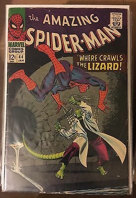 The Amazing Spider-Man #44 ⭐️ VG- ⭐️ Marvel Comics