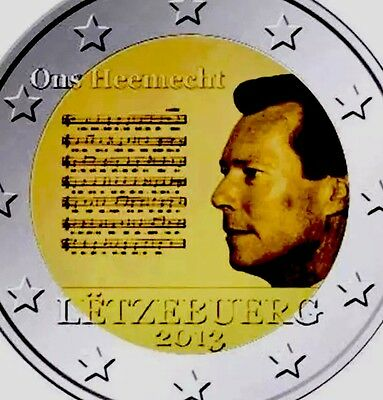 Luxembourg 2 Euro Coin 2013 Commemorative National Anthem New BUNC from Roll