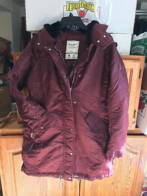 738817930d661 NWT WOMENS ABERCROMBIE&FITCH AF Parka Coat Jacket Puffer Outerwear ...