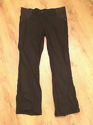 Black George Maternity Size 10 Trousers