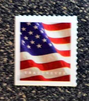 2017USA #5160a Forever  U.S. Flag US - Booklet Single - Mint From Booklet of 10