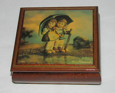 M.J.Hummel Music Box Handcrafted by Ercolano - Song, Memory
