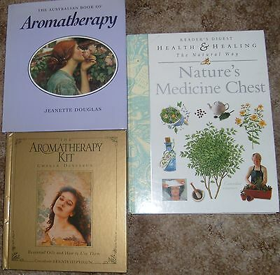 Aromatherapy books & Natures Medicine Chest book ~ readers digest