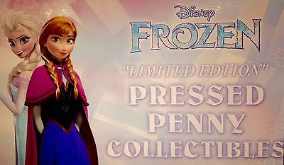 Disney's Frozen Ever After Epcot Complete Set Of Eight Souvenir Pressed Pennies