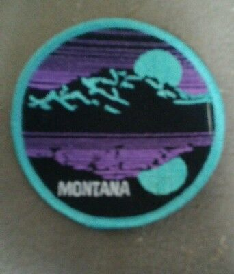 Round Montana patch great condtion
