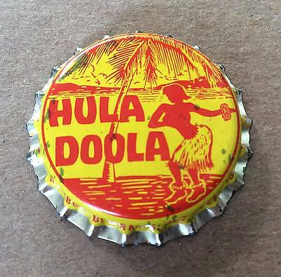 Hula Doola Soda--Cork Lined--Soda Bottle Caps !!