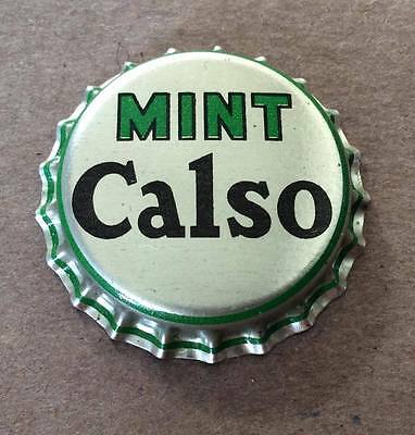 Mint Calso, San Francisco, California--Cork Lined--Soda Bottle Caps !!