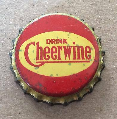 Cheerwine Soda--North Carolina--1940's--Soda Bottle Caps !!