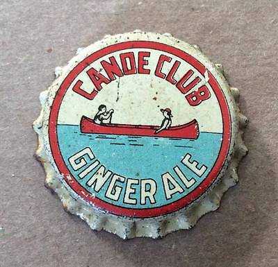 Canoe Club Ginger Ale--1930's--Soda Bottle Caps !!